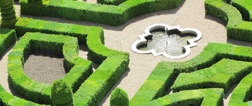 Formal gardens of Villandry