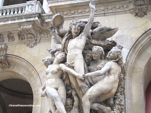 La Danse sculpture by Carpeaux - Opera de Paris