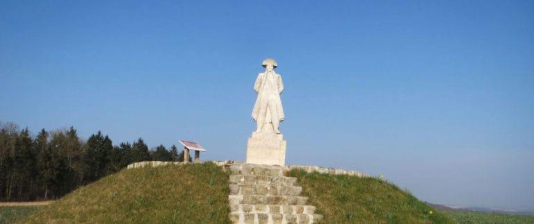 Napoleon statue – Bataille de Craonne 1814