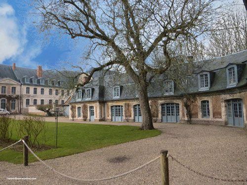 Abbaye de Valloires - Main courtyard