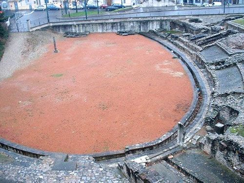 Amphitheatre des Trois Gaules on Colline de Fourvière