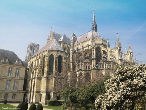 Reims Cathedral - Champagne-Ardenne region