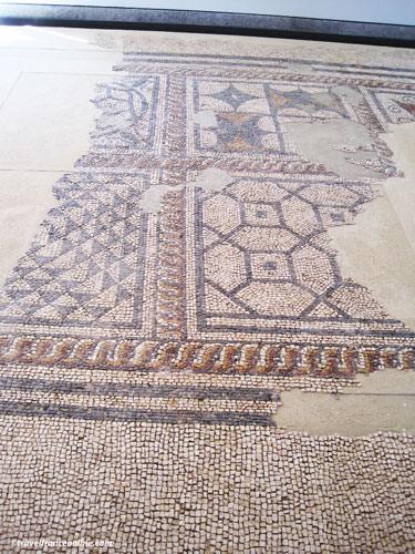 Fenaille Museum - Gallo-Roman floor mosaic