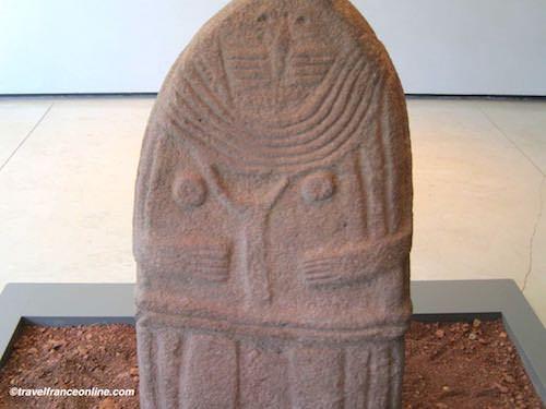 Fenaille Museum - Lady of Saint-Sernin statue-menhir