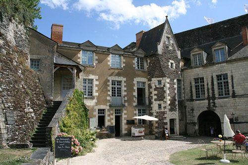 Angers castle - Logis du Gouverneur