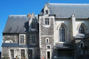 Angers castle - Logis Royal and chapel