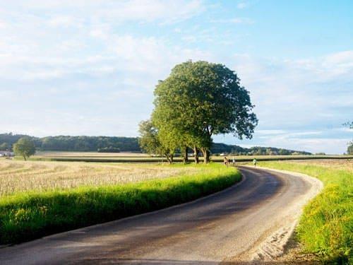 Landscape - Department of Doubs in Franche-Comte