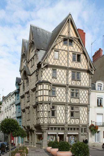 Maison d'Adam - Angers city