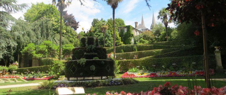 Coutances, the Unelles' capital renamed after a Roman emperor