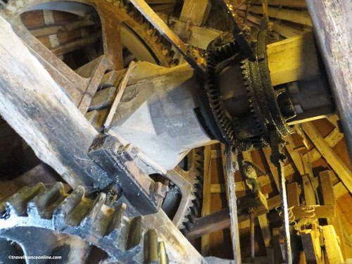 Moulin de Raire mecanism
