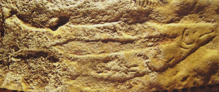 Abri du Poisson – Rock shelter adorned with an engraved salmon