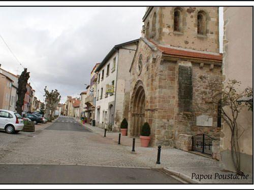 Le Breuil sur Crouze - Romanesque church