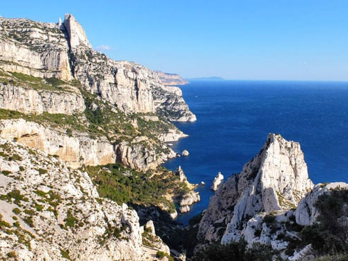 Calanques near Cassis