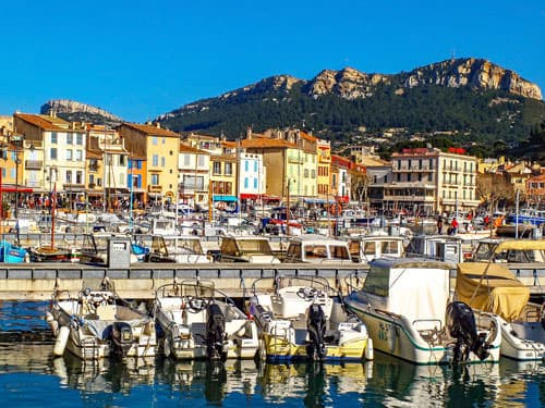 Port of Cassis and Cap Canaille