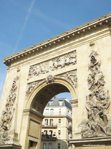 Porte Saint-Denis - South facade