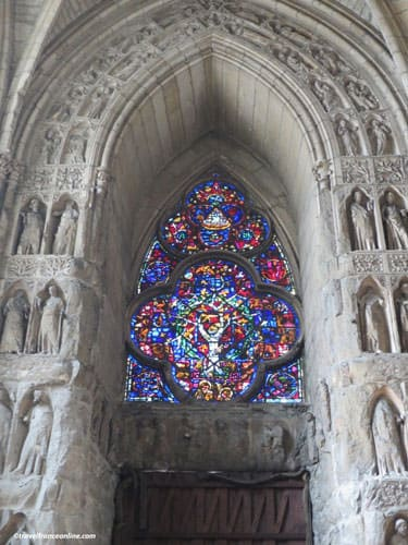 13th century stained-glass windows