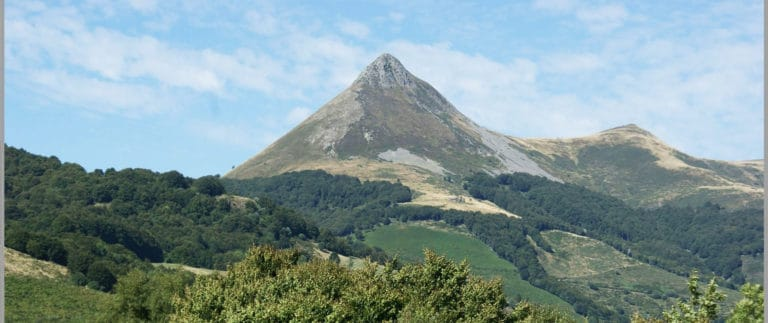 Le Puy Mary, a remnant of Europe's largest stratovolcano