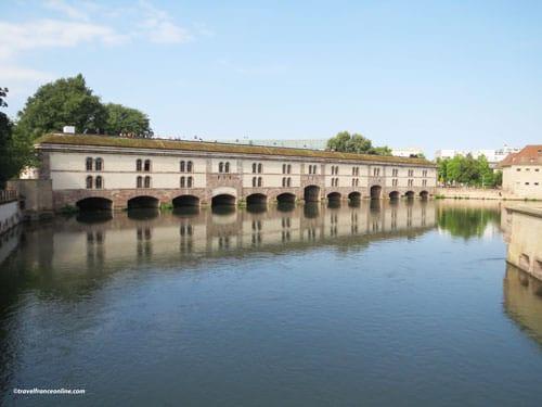 Barrage Vauban - La Petite France - Strasbourg's fortifications