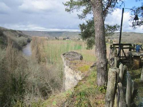 Castel Merle prehistoric site valley