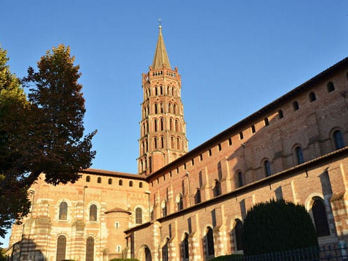 Toulouse the Pink City - Basilique St-Sernin