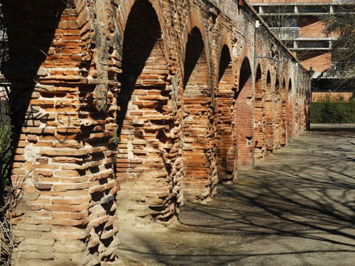 Toulouse the Pink City - Vestiges of the Roman amphitheatre