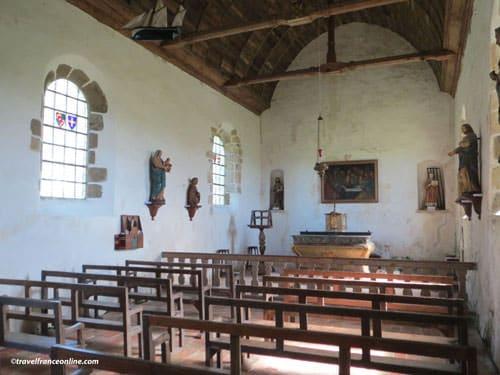 Chapelle Saint-Laurent - Chateau de Pirou