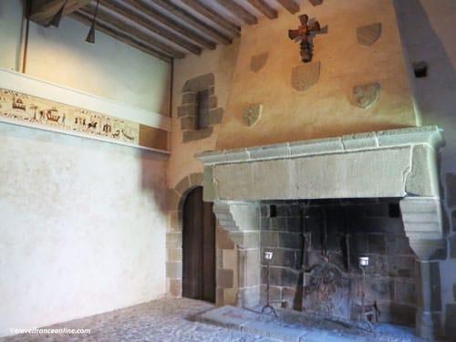Chateau de Pirou - Salle des Plaids