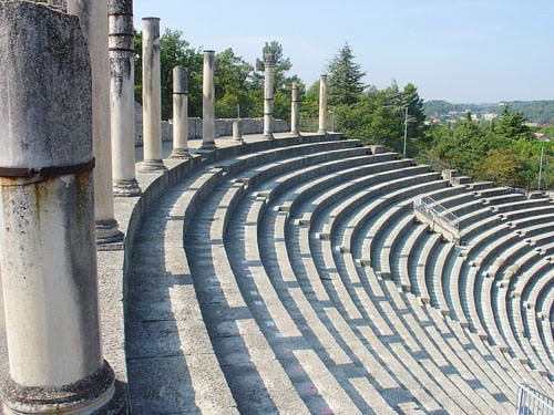 Roman theatre - Puymin site in Vaison-la-Romaine