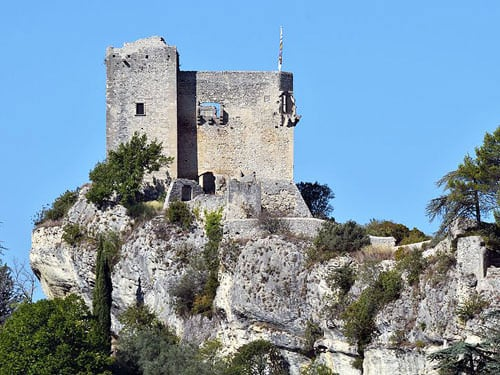Castle of the Counts of Toulouse in Vaison-la-Romaine