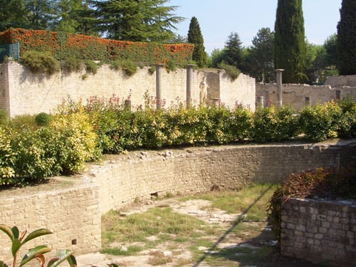Sanctuary - Site of Puymin - Vaison-la-Romaine