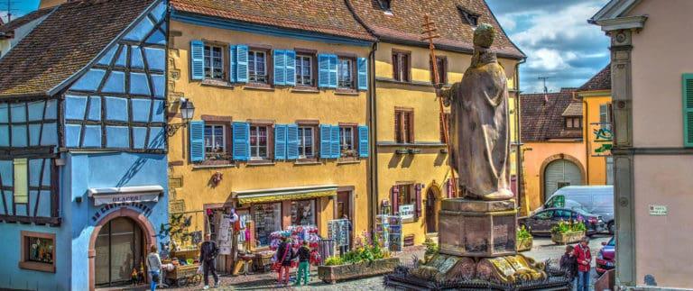 Alsace former administrative region