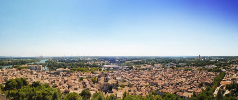 Beaucaire, medieval castle, town and fair