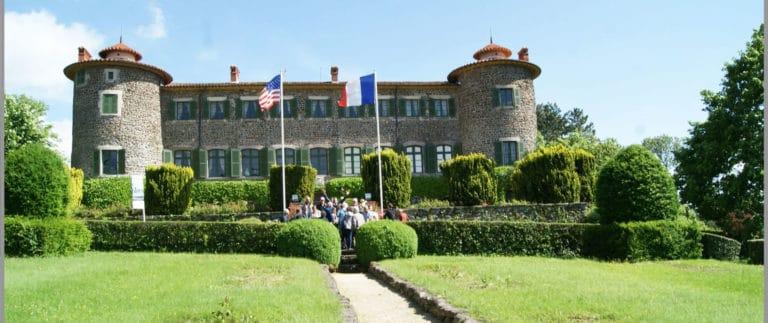 Chateau de Chavaniac Lafayette, Marquis de Lafayette's birthplace