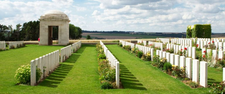 Mill Road Cemetery – Commonwealth Cemetery – Thiepval