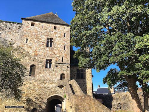 Chateau de Bricquebec - Tour de l'Horloge