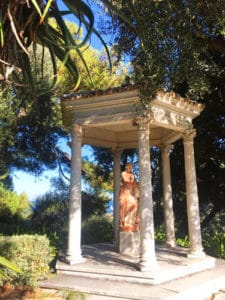 Villa Ephrussi de Rothschild in Saint-Jean-Cap-Ferrat - Rose garden