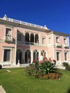 Villa Ephrussi de Rothschild in Saint-Jean-Cap-Ferrat - Southern facade