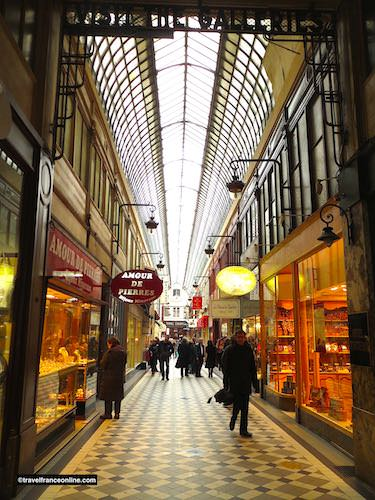 Passage Jouffroy and its glass roof