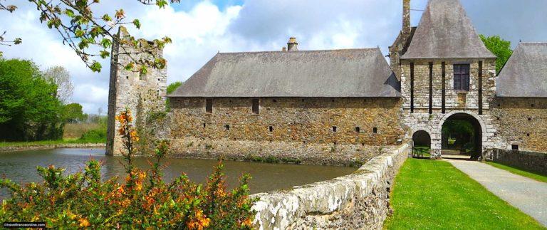 Chateau de Gratot near Coutances