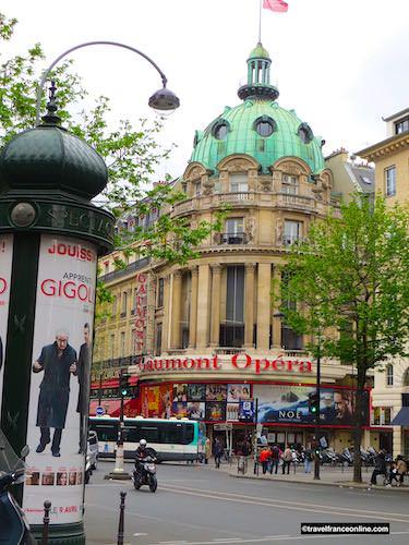 Gaumont Opéra on Boulevard des Capucines on Grands Boulevards