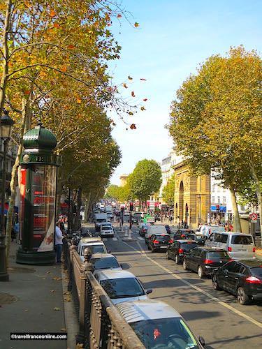 Porte St-Martin and Boulevard St-Martin - Grands Boulevards