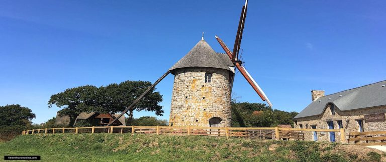 The Cotentin Windmill in Fierville-les-Mines