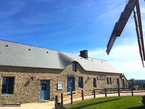 Miller's house opposite the Cotentin Windmill