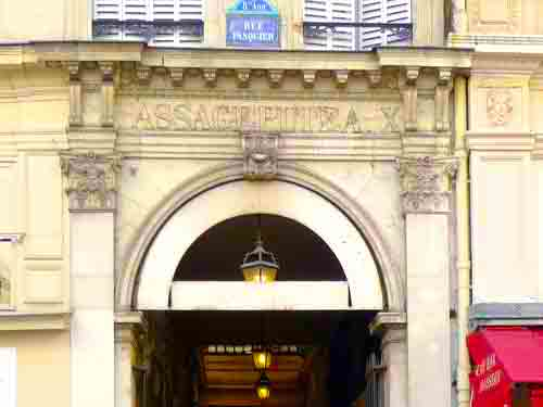 Passage Puteaux in Paris