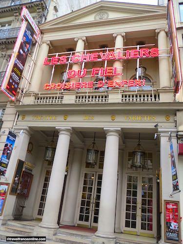 Theatre des Varietes on the Grands Boulevards