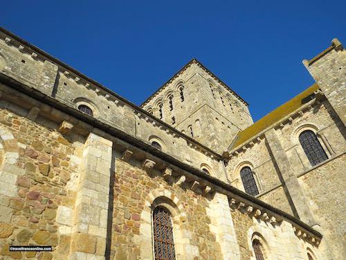 Lessay Abbey exterior