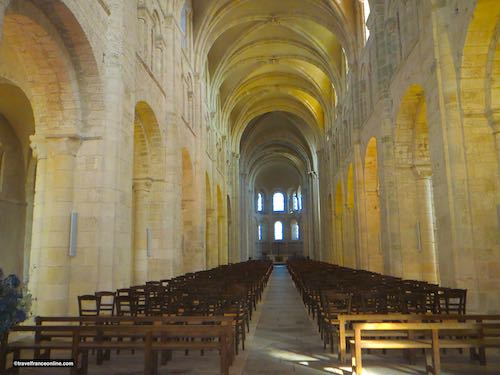Lessay Abbey vaulted nave