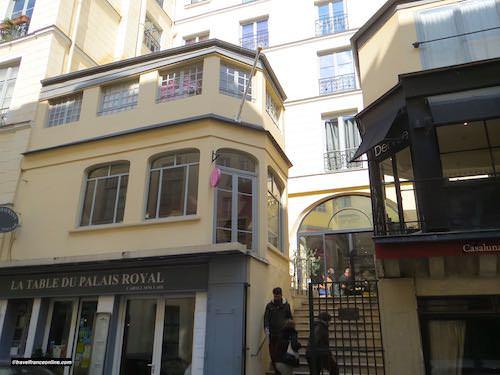 Passage des Deux Pavillons from Rue de Beaujolais
