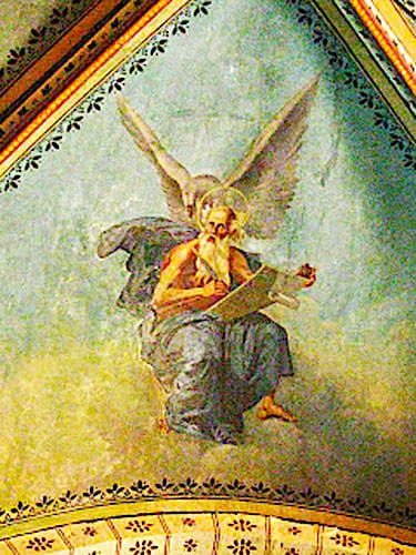 Saint-Cernin du Causse church - Henri Petit's fresco