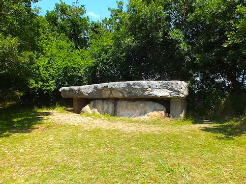 Dolmen de la Pierre Martine in Livernon - Lot